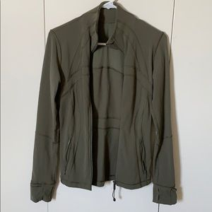 Lululemon green define jacket